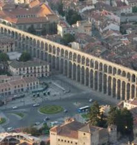 ESPAÑA, ARTE (romano): Acueducto de Segovia