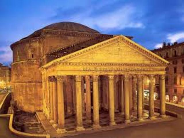 MUNDO, ARTE (romano): Pantón de Roma