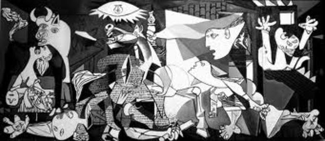 ESPAÑA, ARTE (Picasso): El Guernica