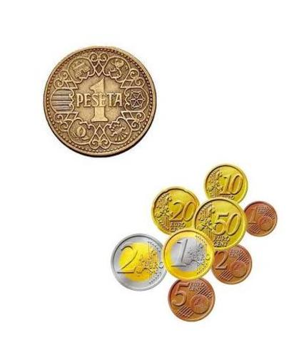 UE, (economía): Conviven la Peseta y el Euro