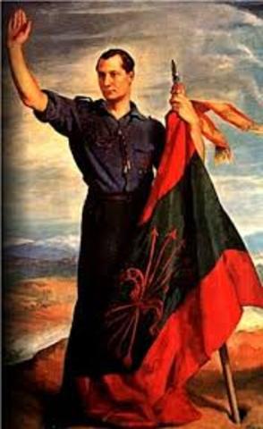 ESPAÑA: José A. Primo de Rivera funda Falange Española
