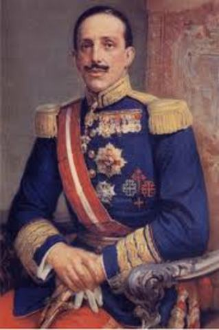 ESPAÑA: Alfonso XIII