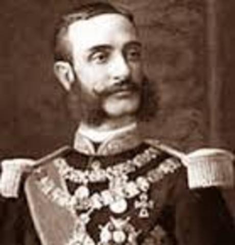 ESPAÑA, RESTAURACIÓN: Alfonso XII