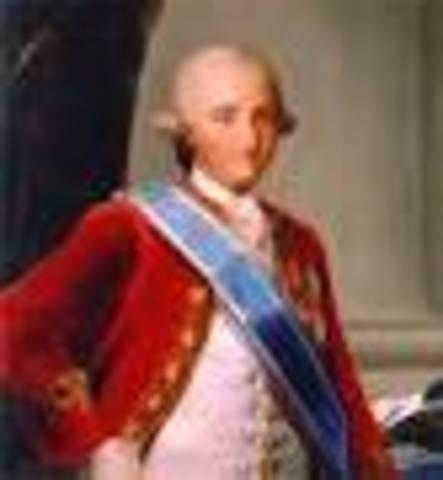 ESPAÑA: Carlos IV