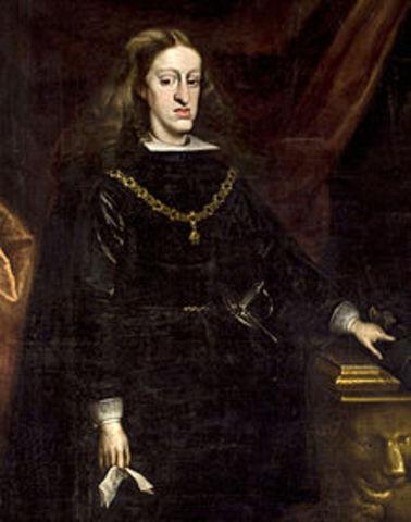 """ESPAÑA: Carlos II """"el Hechizado"""""""