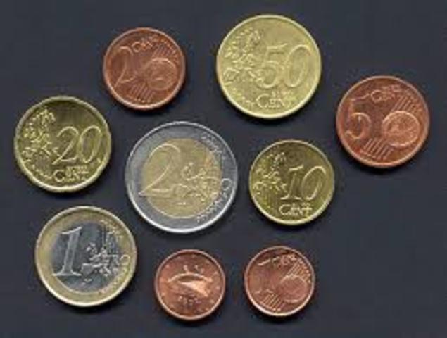 L a entrada del Euro de en la Unión Europa