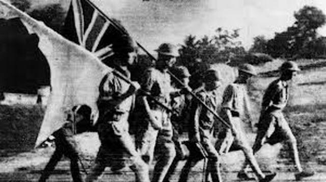 British surrender Singapore to the Japanese