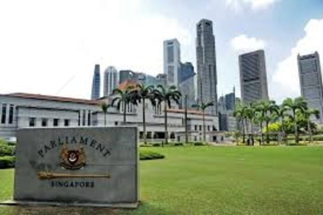 Singapore had its first parlimentary session