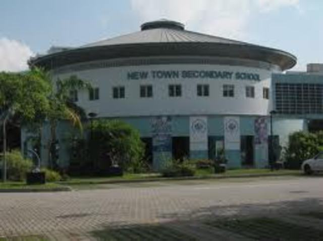 New Town Secondary School went on single session