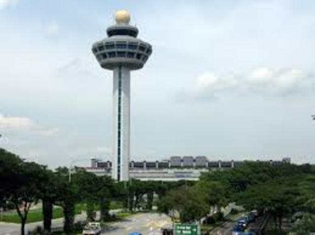 Chagi airport was built