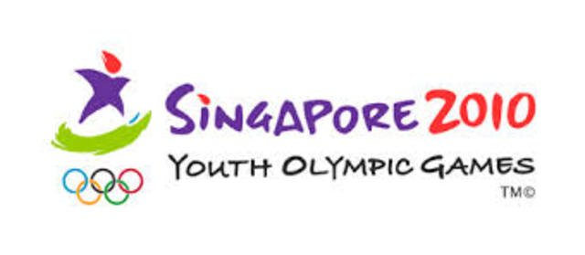 Singapore hosts the youth olypic games