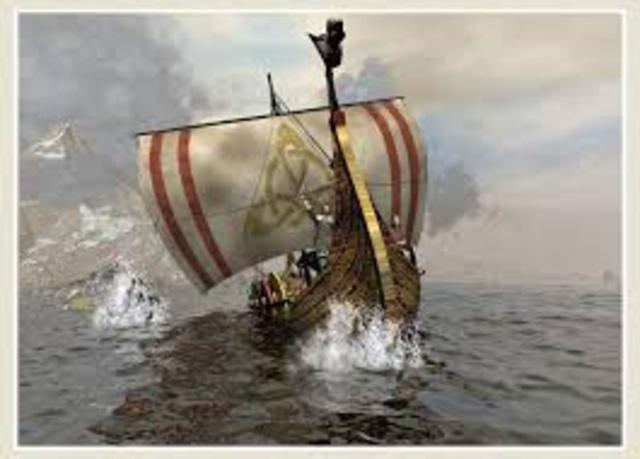 Los vikingos.