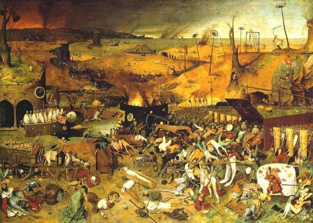 La peste negra produce miles de muertos en Europa