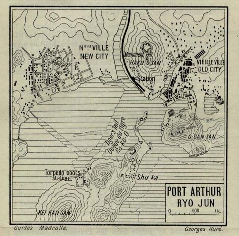 Japan attacks Port Arthur