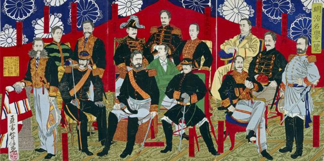 Shogun attacks Shogun; Meiji Restoration begins
