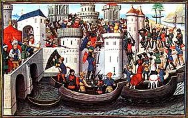 Los turcos conquistan Constantinopla.