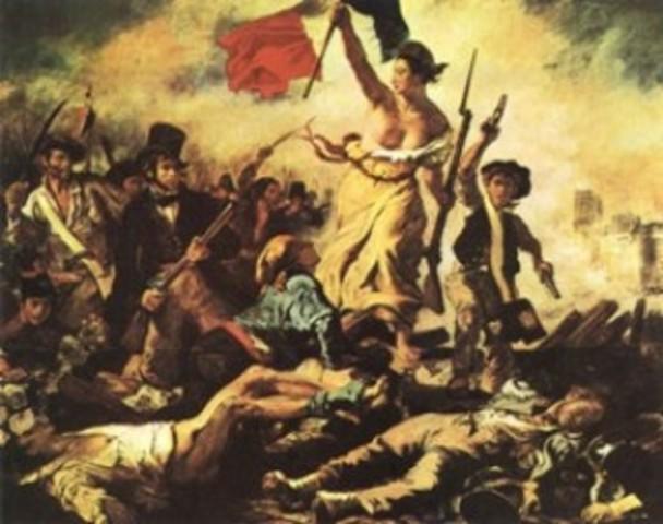 Inicio de la Revolucion Francesa