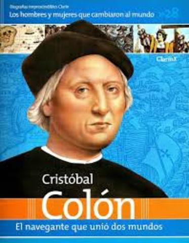Muere Cristobal Colon