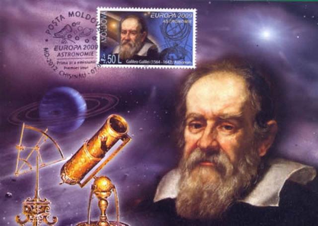 Galileo Galilei inventa el telescopio.