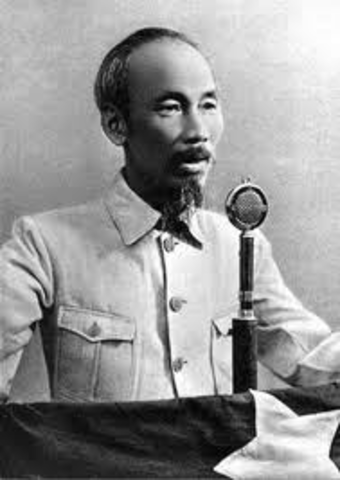 Ho Chi Minh Declares Vietnamese Independence