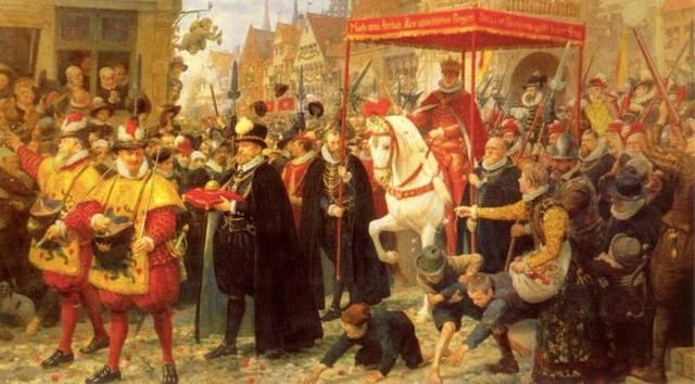 Christian 3.'s indtog i København