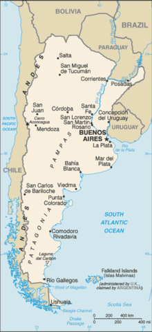 Argentina get's full independence