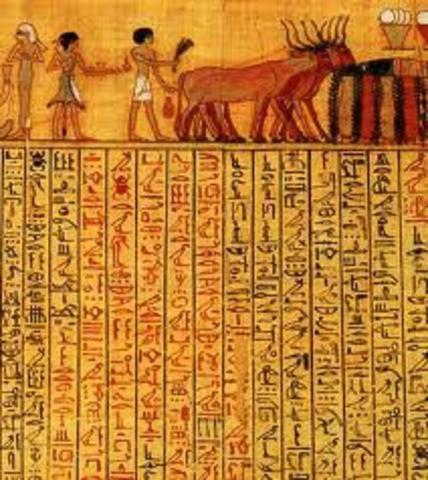 egipcios 3050 a.c