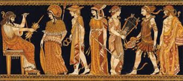 griegos y los romanos