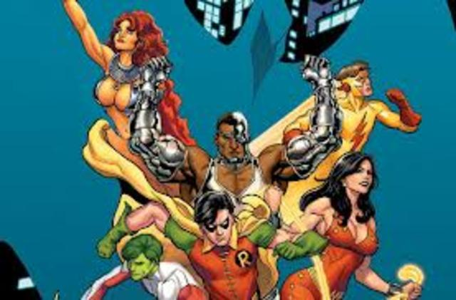 Creation of the Teen Titans