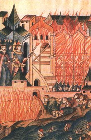 Иван Калита, Поход против Твери