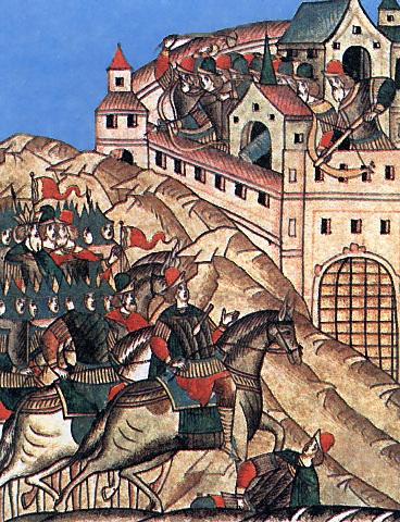 поход на Москву хана Тохтамыша