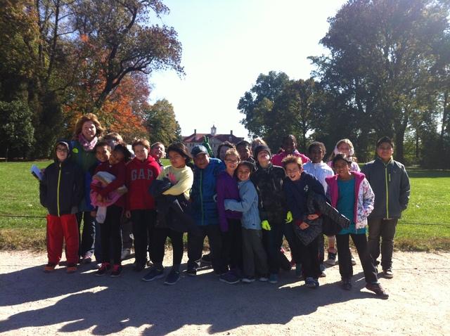 4th Grade Visits Mt.Vernon