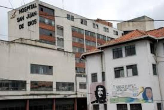 se fundó en Bogotá el Hospital de San Pedro
