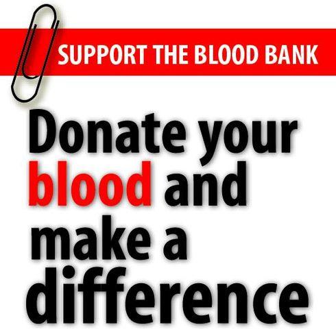 "CE. ""Blood bank"""