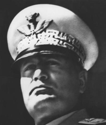Facism and Benito Mussolini in italy