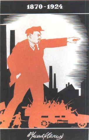soviet union was formed by V.I. Lenin