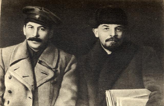 Joseph Stalin takes control of soviet union after death of V.I. Lenin