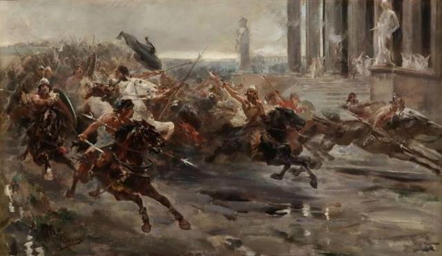Invasion de suevos, vándalos y alanos en la Peninsula Iberica