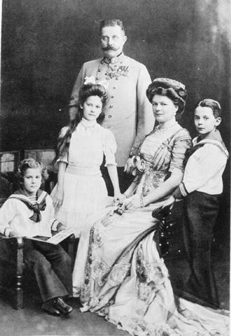Heir of the Austria-Hungarin throne.