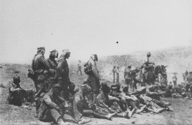 Allies in Palestine in 1917-18
