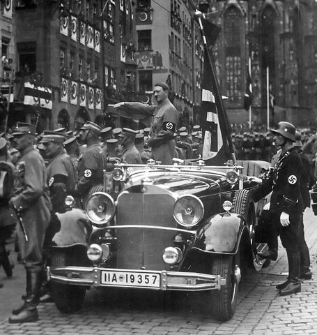 Hitler's dictatorship continues