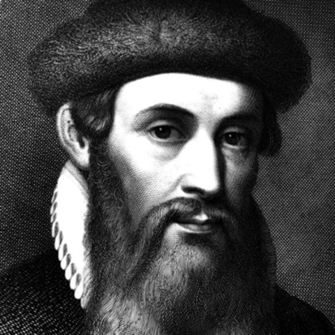 JOHANNES GUTENBERG. (Maguncia, Alemania, 1398 – 3 de febrero de 1468)