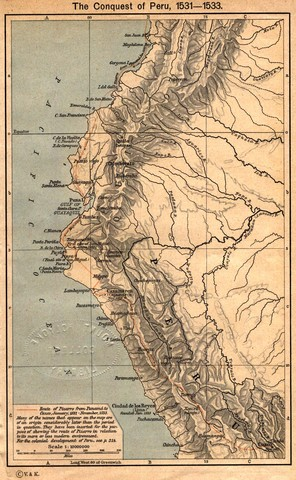 LA CONQUISTA DEL IMPERIO INCA. (1531-1534)