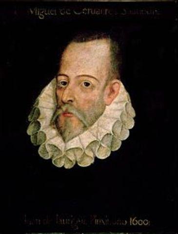MIGUEL DE CERVANTES.  (Alcalá de Henares,3 29 de septiembre de 1547 – Madrid, 22 de abril de 1616)