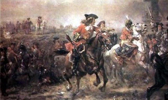 Comienzo de la Guerra de Sucesion Española