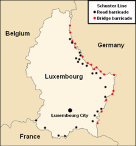 Germany takes Luxembourg