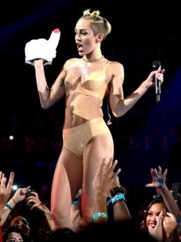 Miley Cyrus en los VMA's