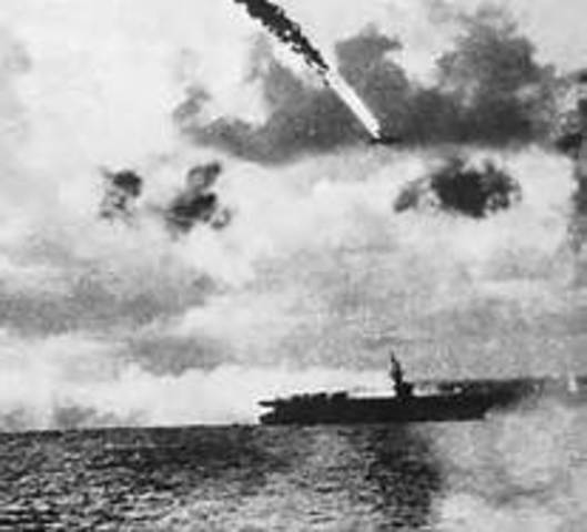 Naval battle of the Philippine Sea