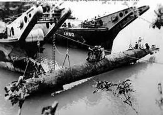 Naval battle of Okinawa