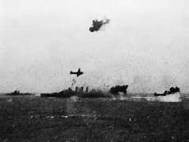 Air battle of the Coral Sea